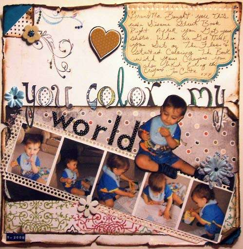 {you color my world}