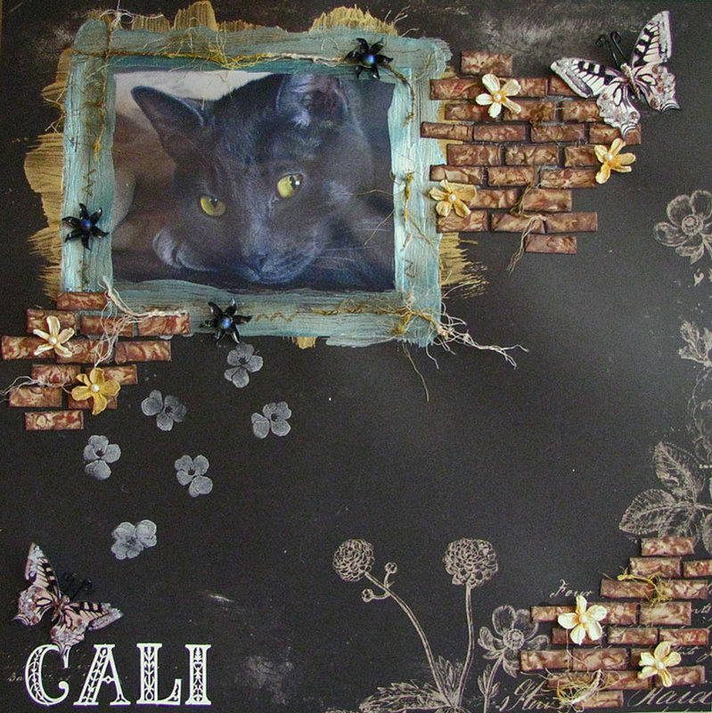 Cali - Scraps of Darkness kit club