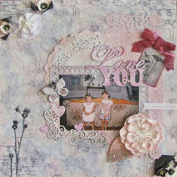 Love You - Scraps of Elegance Kits