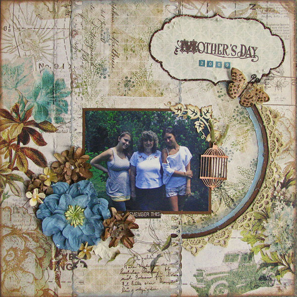 Mother's Day - Scraps of Elegance Kit Club