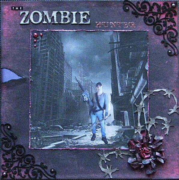The Zombie Hunter - Scraps of Darkness