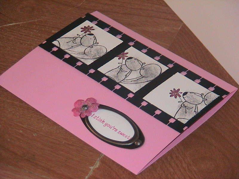 Film Strip card