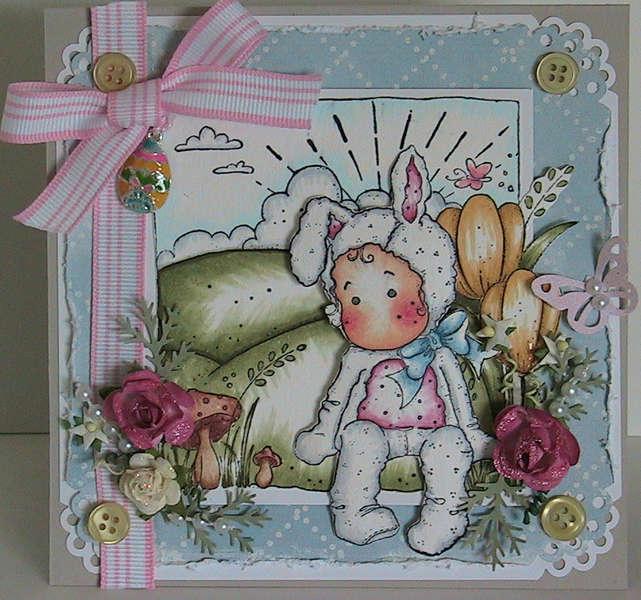 Easter Magnolia Card