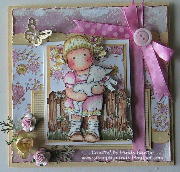 Spring Magnolia Card