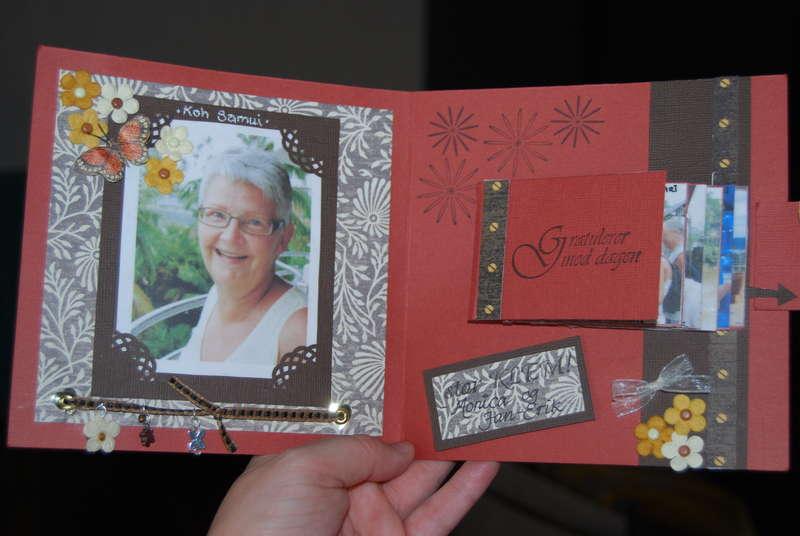inside my mums card