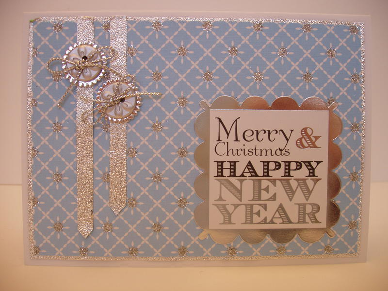 silver/blue Christmas