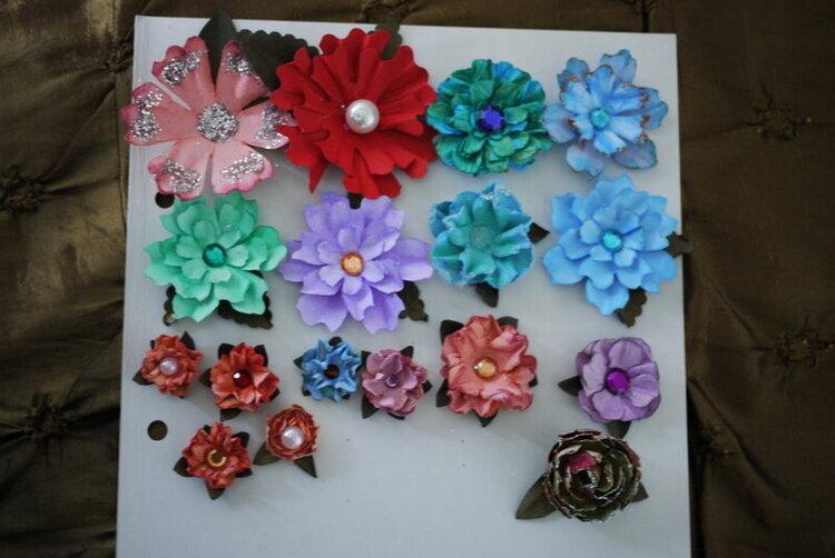 handmade flowers!!