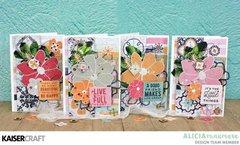 Four Havana Nights Cards