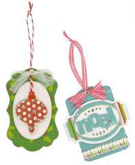 Mint Twist Gift Tag Cards
