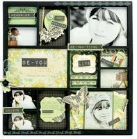 12 Frame Photo Display