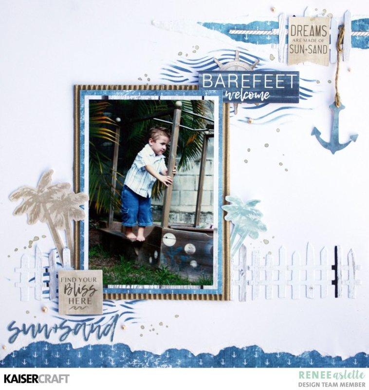 Barefeet Welcome Layout