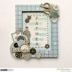 Father's Day Altered Frame