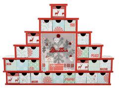 North Pole Shadow Box Drawers