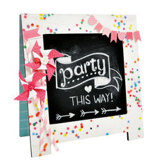 Party Time Chalkboard