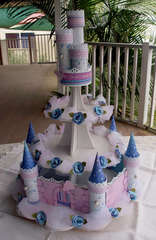 Princess Cupcake Castle