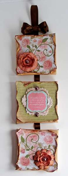 Mother's Wall Plaque with Charlotte's Dream