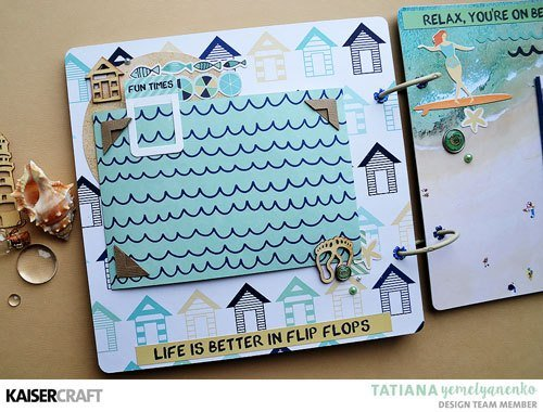 Summer Splash Mini Album by Tatiana