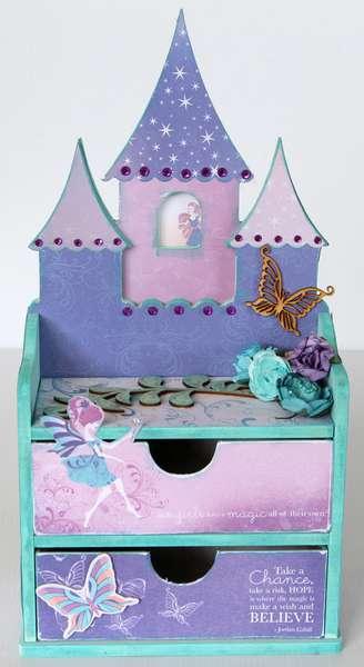 Kaisercraft Magic Happens Fairy jewelry drawers