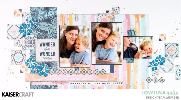 Wander Often Double Page Layout