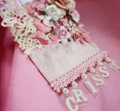 Shabby  Chic  Personalized Tag