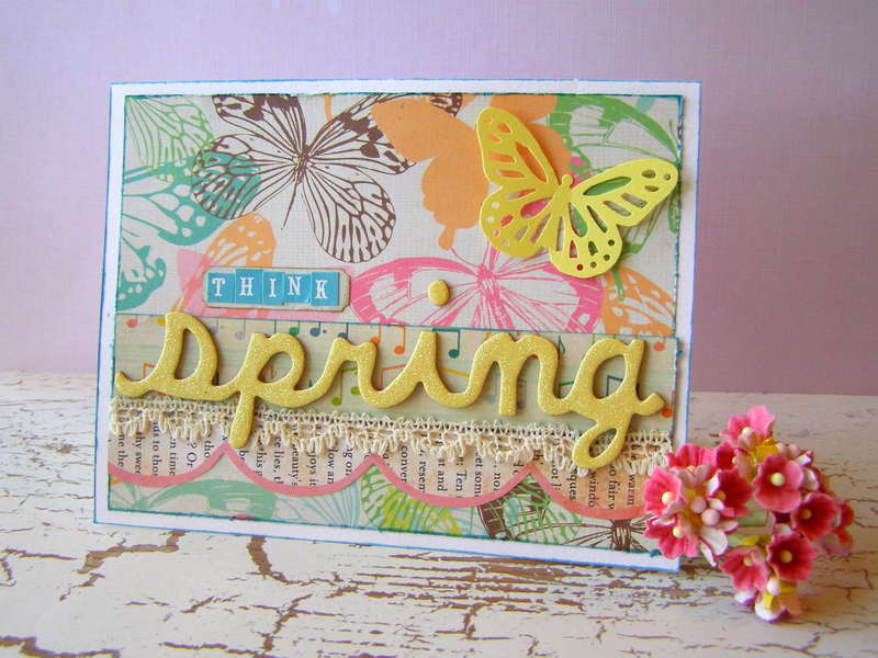 Think Spring - March Cards magazine