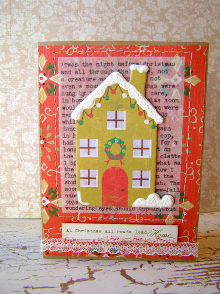 All roads lead home - Create Christmas Cards