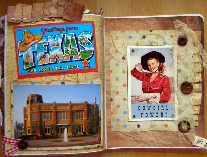 Melanie's Postcard Circle Journal