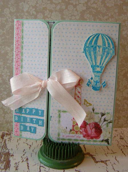 Happy Birthday Gate-Fold card