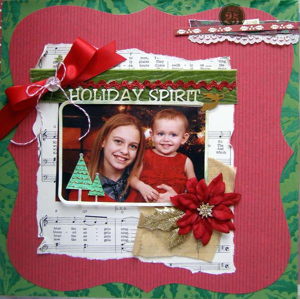 Holiday Spirit - Scrappy Shack DT