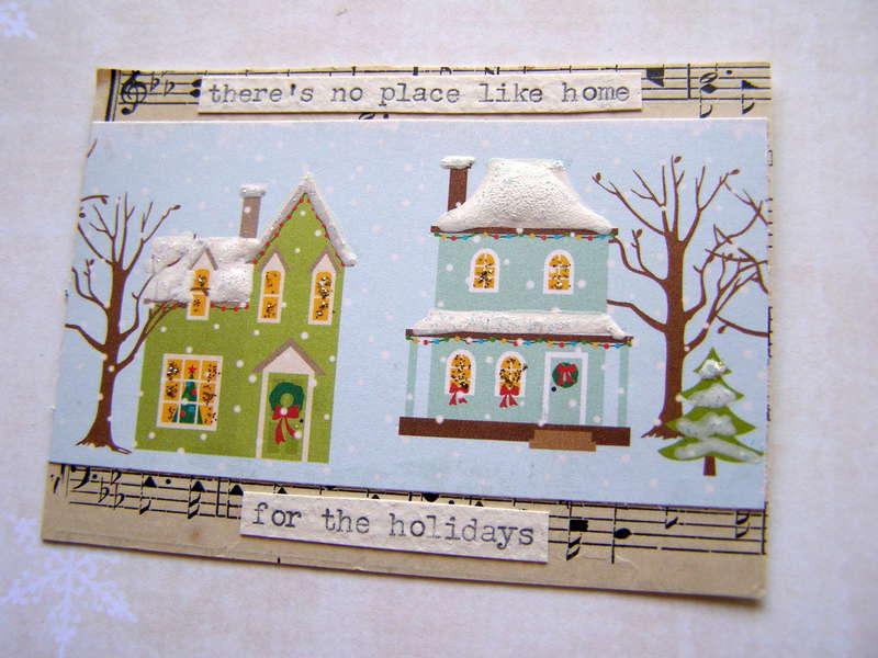 Christmas Song ATC Swap