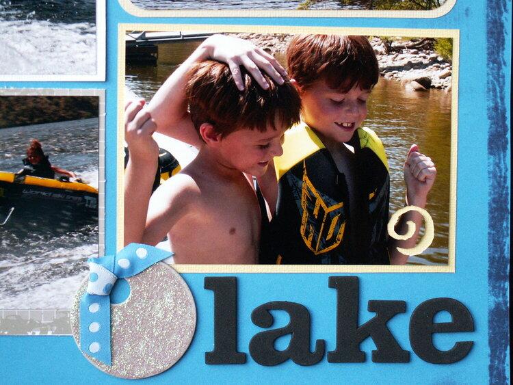 Boys at the lake