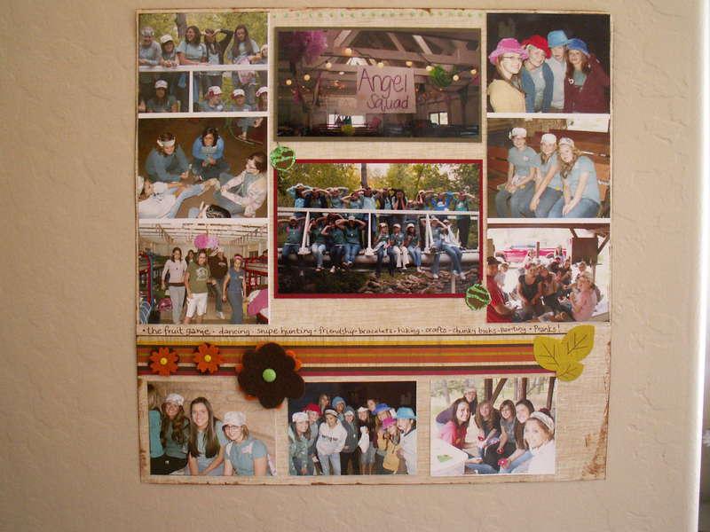 Girls Camp- Lots of fun!
