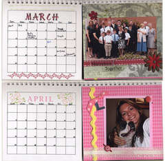 EK Art Blanche Calendar