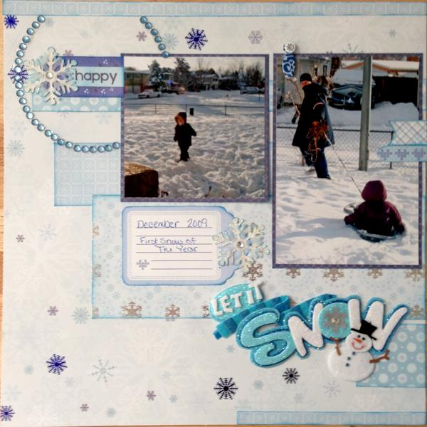 Let it Snow Page 1