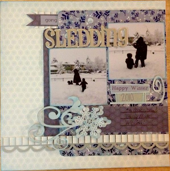 Going Sledding Page 1