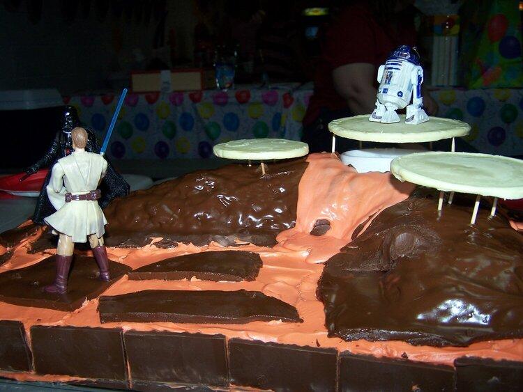 Star Wars lava planet