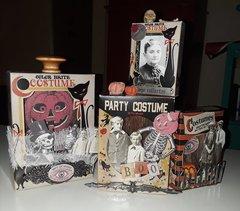Tim Holtz Halloween Vignette Boxes