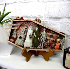Tim Holtz Vignette Coffin Tray