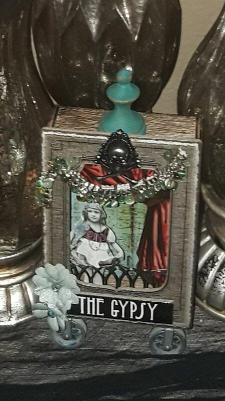Tim Holtz Gypsy Girl