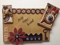 Acrylic Note holder