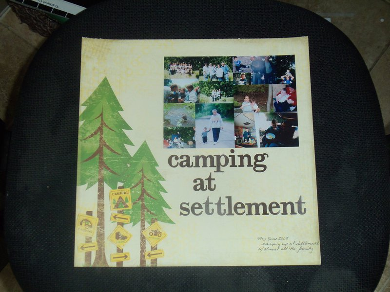 Camping at Settlement