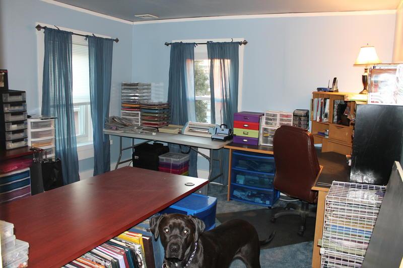 My new scrapbook room