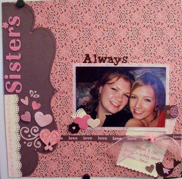Sisters Always- SEI Jolie Chocolat