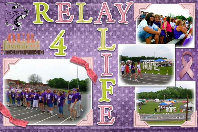 Middle School Relay for Life