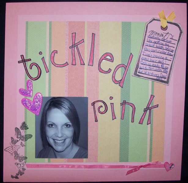 Tickled Pink - challenge