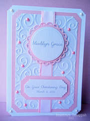 Baptism/Christening Card