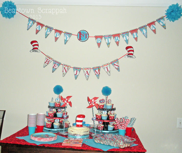 Dr. Seuss Party Banners