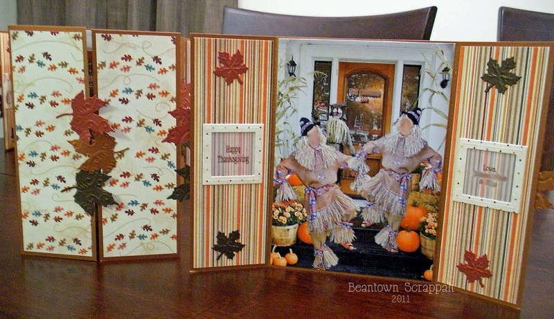 Thanksgiving Gatefold Greetings