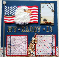 MY DADDY IS A HERO PAGE ONE