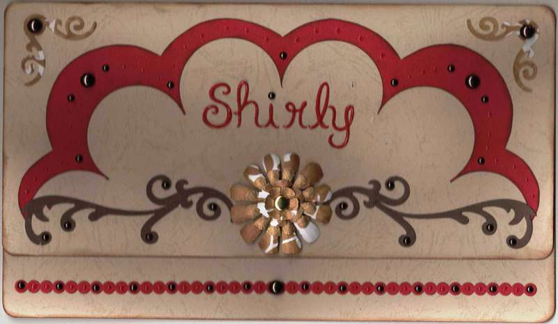 Shirly's Retirement Card